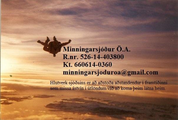 Minningarsjóður Örvars Arnarsonar